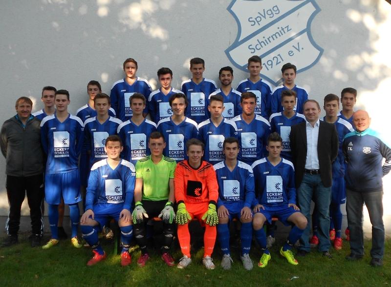 Mannschaftsfoto A-Junioren 2015/16