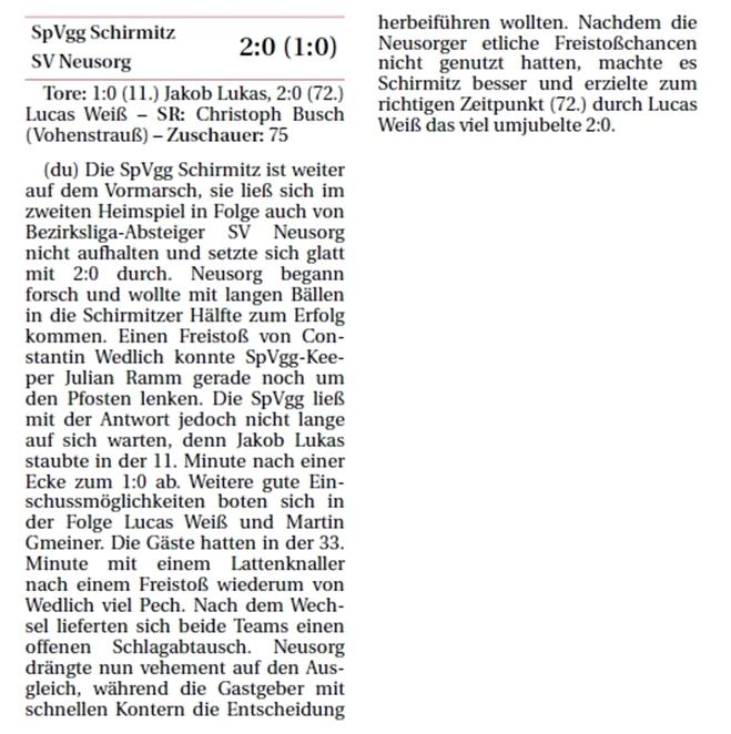 2014-08-25_NT_SpVggSchirmitz-SVNeusorg