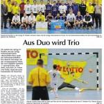 Finale Hallenkreismeisterschaft - Pressebericht