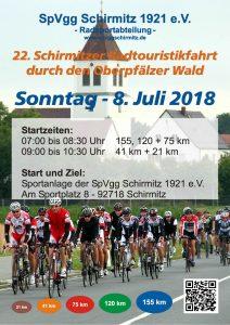 Plakat zur RTF 2018 am 08.07.2018