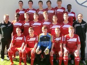 Mannschaftsfoto A-Jugend 2014/2015
